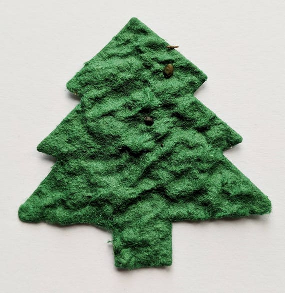 Plantable Christmas Tree.Christmas Tree Confetti Large Plantable Paper Eco Friendly Wedding Table Decorations Or Christmas Decor