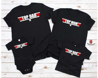 980b7027 Top Gun Family Shirts - Father's Day Shirt - Sibling Shirts - Top Dad - Maverick  Goose Top Gun - Maverick And Goose Shirts - Applecopter