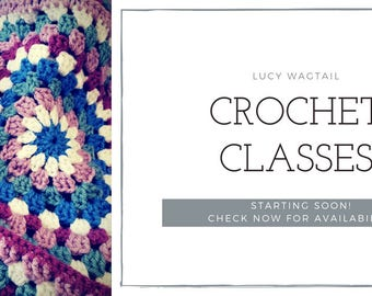 Crochet Classes - Beginners - Autumn 2018