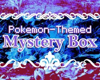 Pokemon Lucky Dip Mystery Box - PKMN Fukubukuro Lapel Pins Charms Stickers Keychains Clearance and Surprises GO Valor Instinct