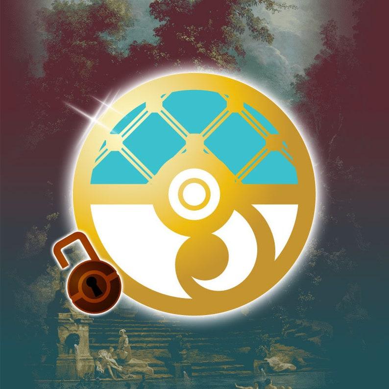 PRE-ORDER Pokemon Rococo Baroque Art Nouveau Inspired image 0