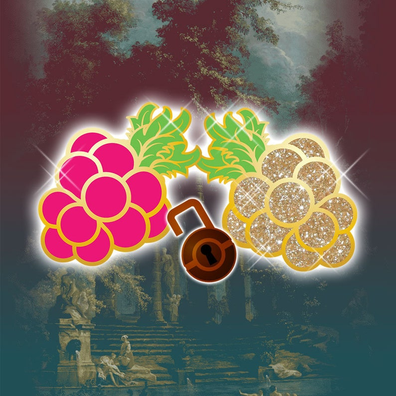PRE-ORDER Pokemon Rococo Baroque Art Nouveau Inspired Razz image 0