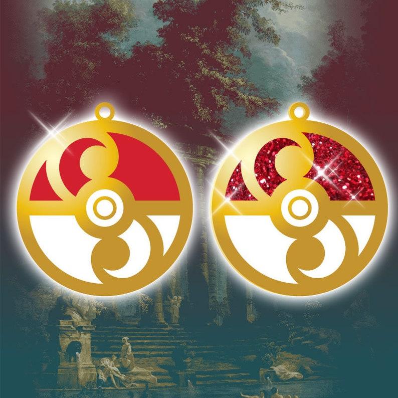 PRE-ORDER Pokemon Rococo Baroque Art Nouveau Inspired Pokeball image 0