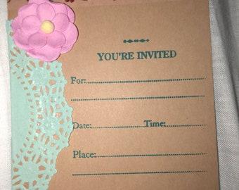 Theme Birthday Invitation - Doc Mcstuffins