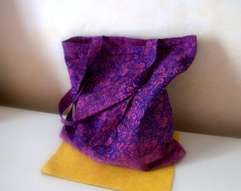 Bag tote bag / Tote everything purple bag