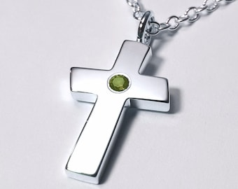 Large amethyst cross pendant sterling silver cross necklace large peridot cross pendant sterling silver cross necklace large peridot cross necklace sterling mozeypictures Gallery