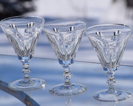 Vintage Waterford CRYSTAL Wine Glasses, Set of 4, Waterford, Galtee, circa 1968,  Vintage Waterford Cocktail Glasses, Rare Crystal Waterford