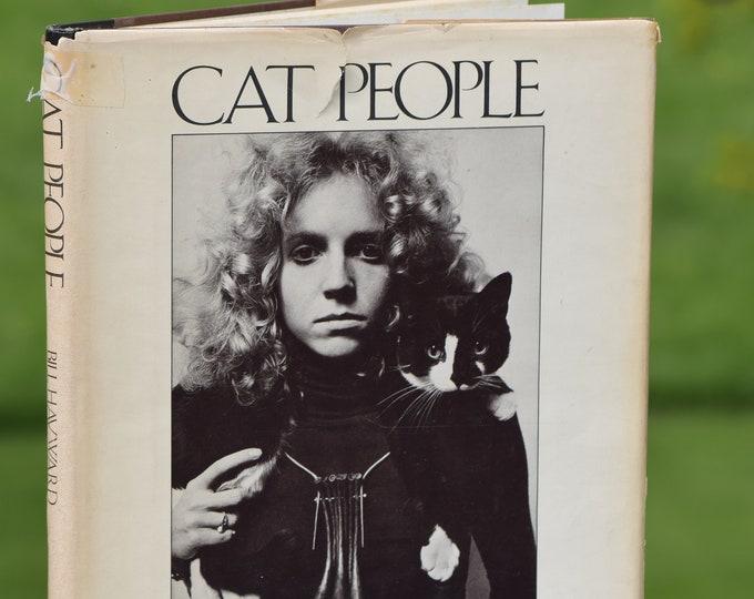 Vintage CAT PEOPLE Book by Bill Hayward, Vintage Books for Home Decor, Cat Pictures, Vintage Home Decor, Vintage Books