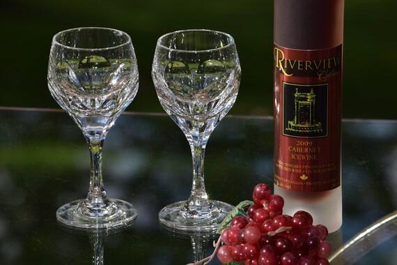 Vintage Crystal Wine Cordials, Set of 7,  4 oz After Dinner Liquor Port Wine Cordials, Wine Tasting Glasses, 4 oz Liquor glasses