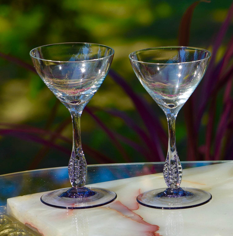 4 oz martini glasses susquehanna glass vintage purple cocktail martini glasses set of 4 liquor oz glass