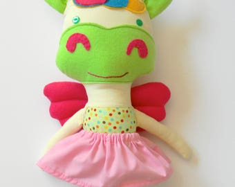 Unicorn Soft Doll - Unicorn Fabric Doll - Handmade Unicorn Doll - Unicorn Doll - Unicorn Plushie  - Unicorn Rag Doll - Unicorn