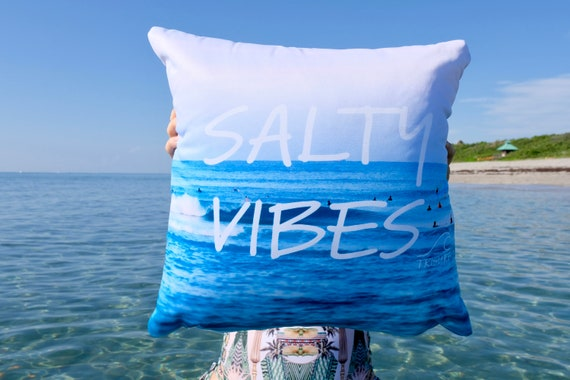 Salty Vibes - Pillow