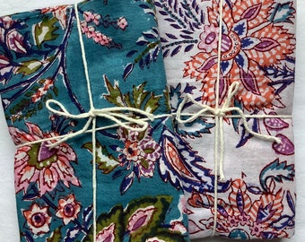 Pillowcases, Free shipping,Handmade, Indian cotton prints, standard pilowcases, super soft all cotton pillowcases