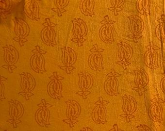 Indian block print, 100% cotton, dress materials, vintage block print
