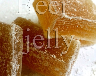 Beer jelly. Handcrafted candy 150g
