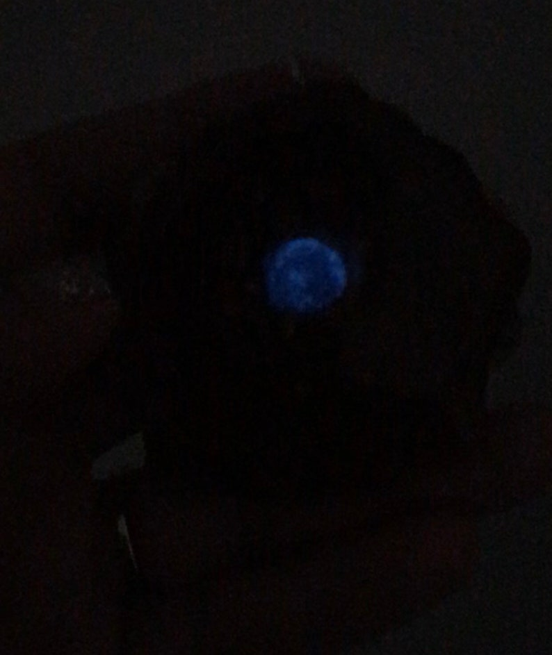 Pinecone Pendant Third Eye Pinecone Cosmic Blue Opal and Glowdust Glowing Third Eye Crushed Opal Inlay Empowerment Enlightenment Natural