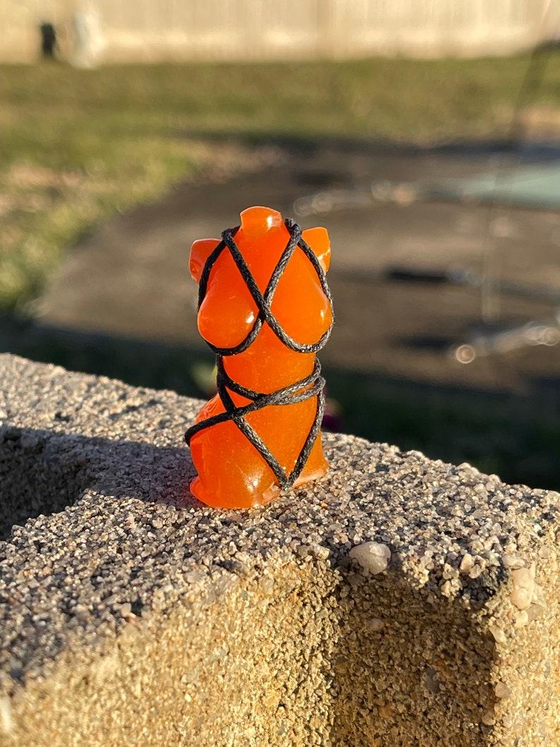Goddess Voluptuous Tied Up Mini Goddess Figurine Gaia Busty Female Adult Art Sculpture