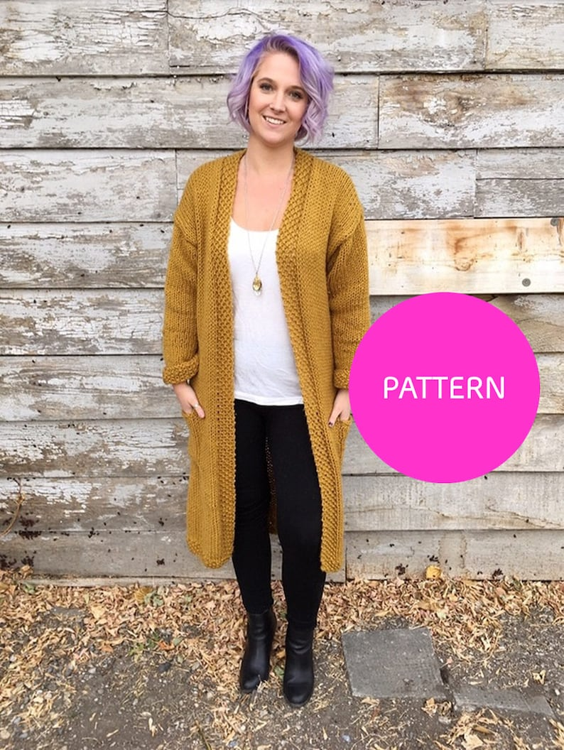 Knit Pattern Only All day Cardigan Knit cardigan cardigan image 0