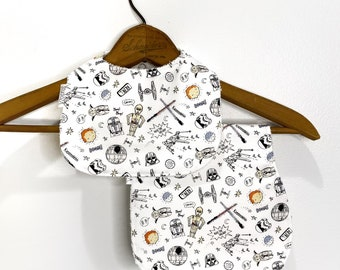 Burp Cloth  Disney Baby Gifts  Star Wars Baby Gifts Bibs and Burp Cloth  Star Wars Classic Multi Baby Bibs