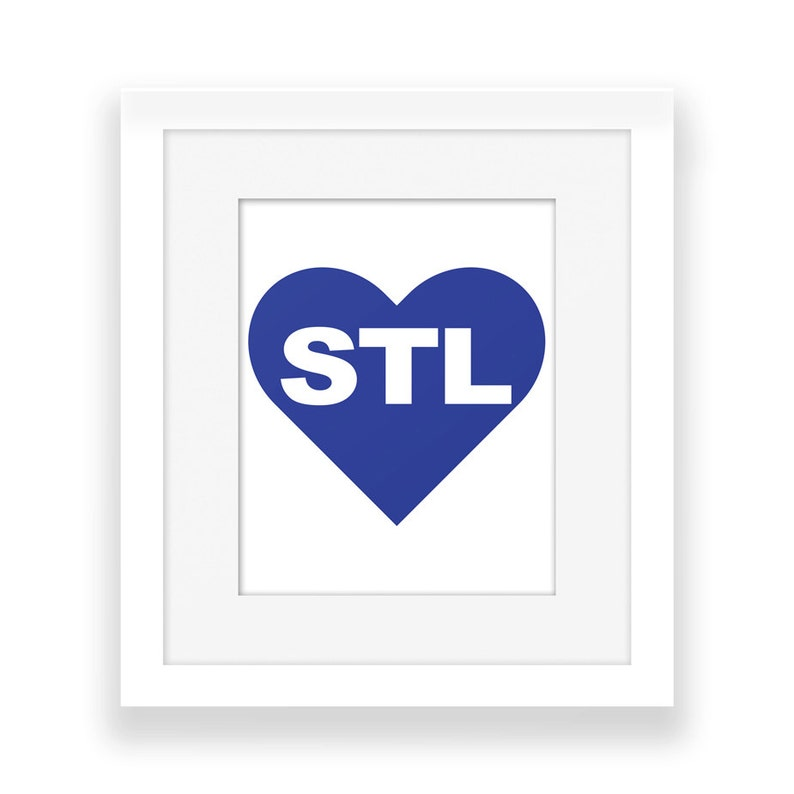 photo regarding St Louis Blues Printable Schedule identify St. Louis Signal / Reward - STL Indicator - Printable Signal - I get pleasure from Saint Louis - Missouri - Centre - Electronic - Print at Household - St. Louis Blues - 8x10