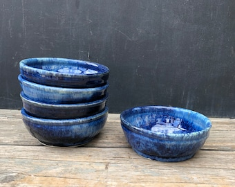 Wee Small Pottery bowl- Everyday little ceramic bowl, great for ice cream & small servings, hand thrown stoneware pottery, different glazes