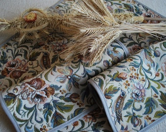 Set of 4 Table Placemats from Baltic Jacquard