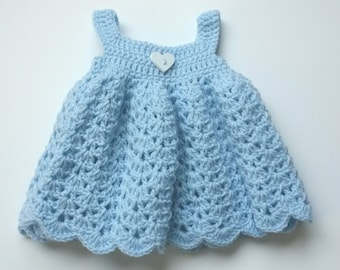 Frilly baby dress