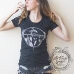 Desert Inspired Graphic Tee Shirt for Women