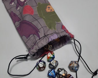 Monster of the Day Dice Bag