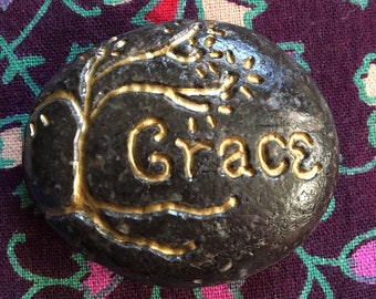 Grace Stone with Tree of Life