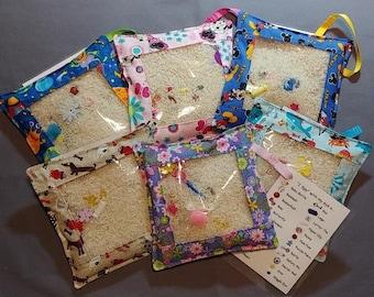 I Spy Bag/Discovery Bag/Busy Bag/Sensory Bag/Fidget Bag/Eye Spy Bag/Quiet Time/Travel Toy/Seek and Find/Montessori/Autism