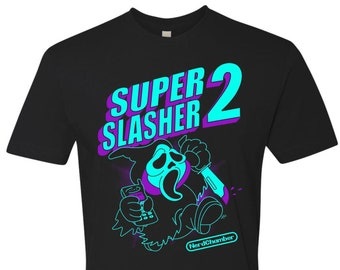 Special Limited Edition Super Slasher 2 NES Variant T-Shirt