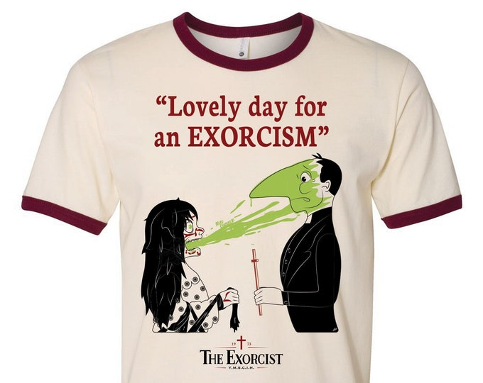 Featured listing image: Limited Edition Lovely Day for an Exorcism T-Shirt