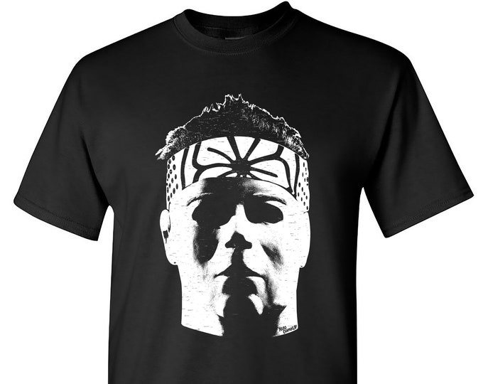 Featured listing image: Michael Myers Karate Kid T-Shirt