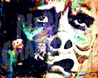 "Eye of the Beholder Pig Face Twilight Zone Poster Artwork - 11"" x 14"" Metallic Print"