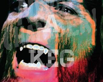 "Teen Wolf ""Underage"" Artwork - 11"" x 14"" Metallic Print"