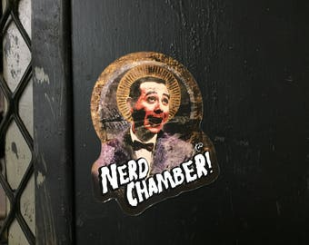 "Nerd Chamber ""St. Paul"" Pee Wee Herman Fridge Magnet"