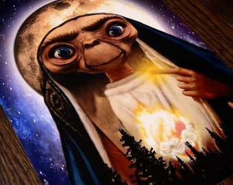 "E.T.2.0 Original Artwork - 11"" x 14"" Metallic Print"