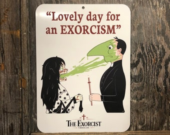 The Exorcist Beer Aluminum Art Print