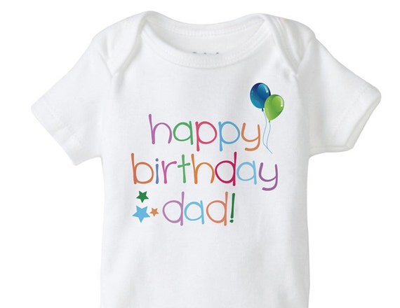 DIY Printable Happy Birthday Dad Iron On Transfer Digital