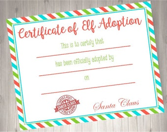 Elf Report Card Elf Props Diy Elf Ideas Printable Elf Etsy