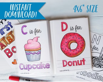 Colouring Pages Of Abc : Baby shower games printable abc coloring book alphabet