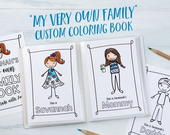 Family Coloring Sheets