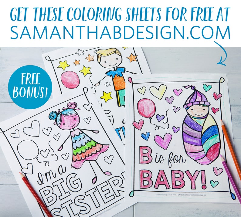Printable ABC Coloring Book Baby Shower Activity / Alphabet Baby Book /  Baby Shower Game / PDF Download 8.5x11\