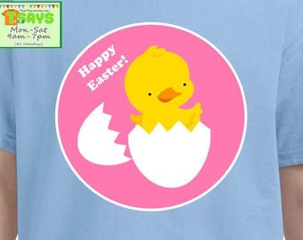Easter chick shirt, personalized shirts, easter personalized shirts