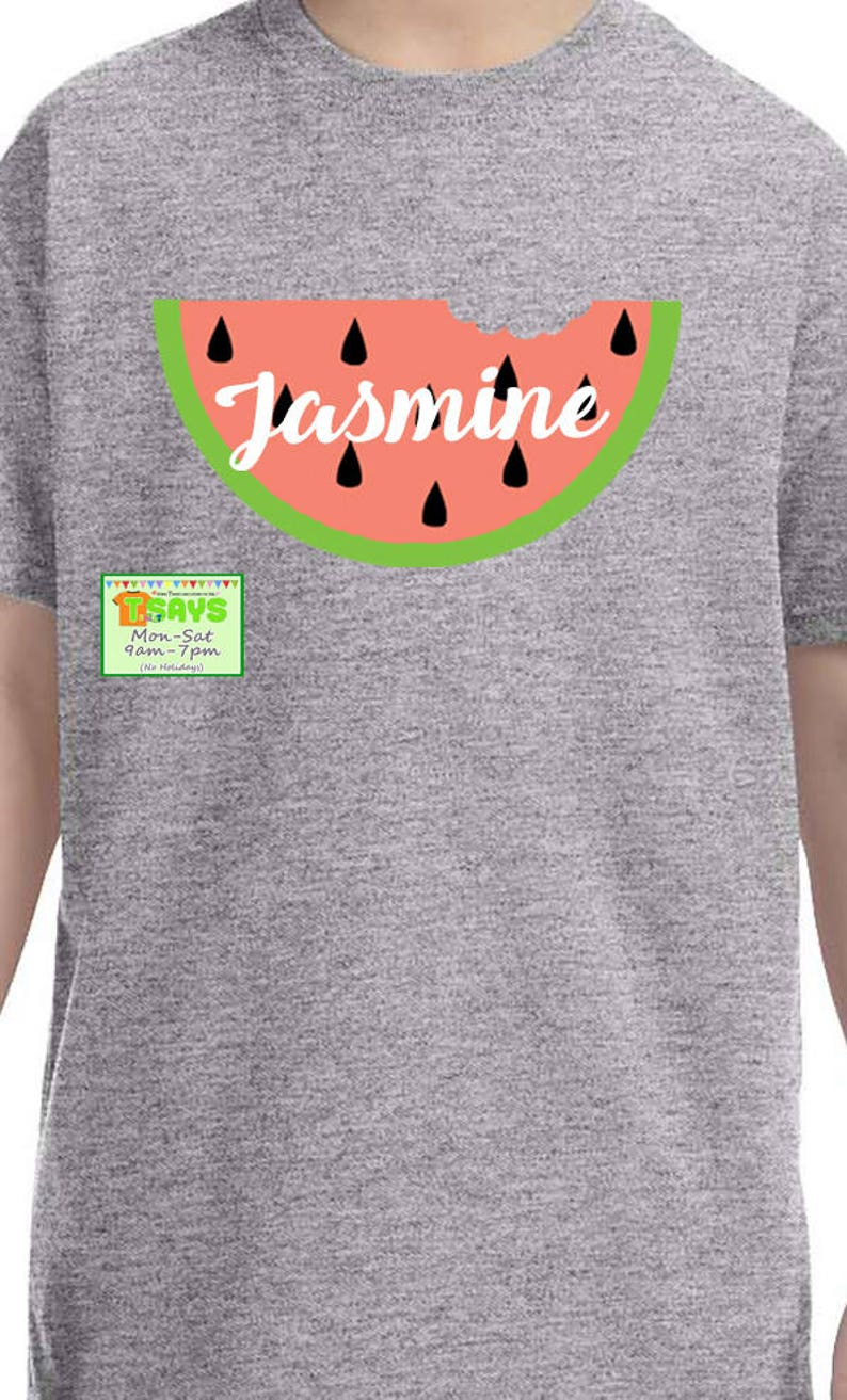 b0e1a1b60 Watermelon shirt personalized watermelon shirt delicious | Etsy