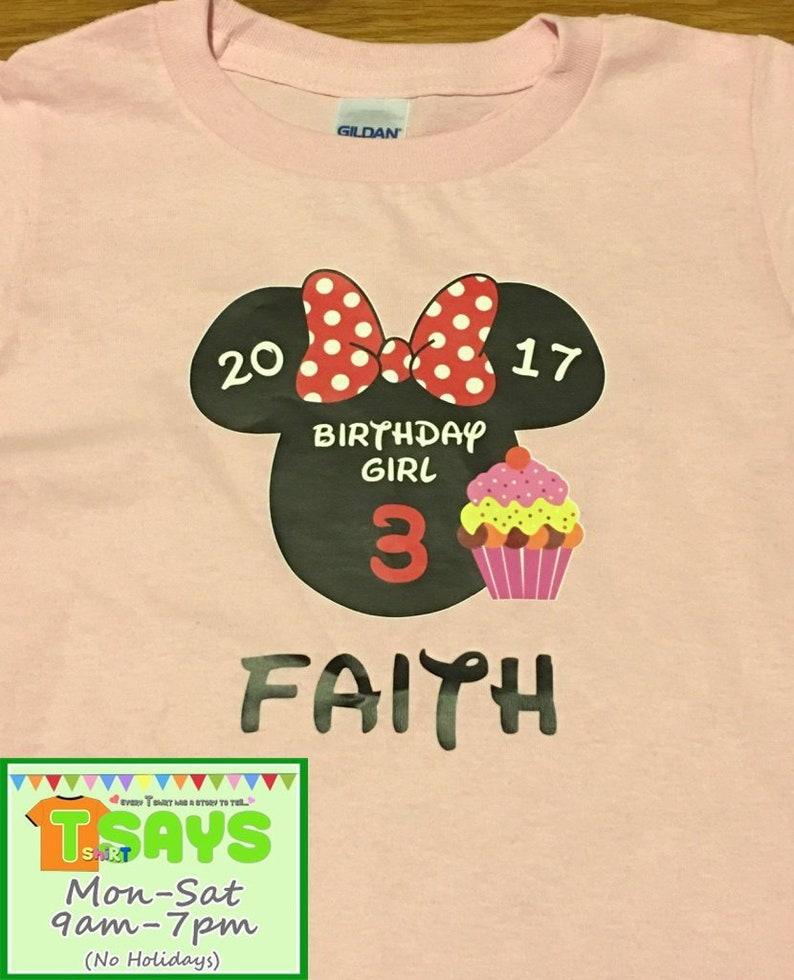 a8e6a320e3fb Mickey Minnie Birthday shirts Disney family shirts Disney | Etsy
