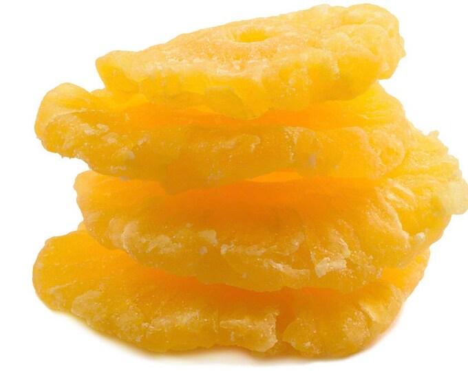 Dried Pineapple Rings (Sweetened)