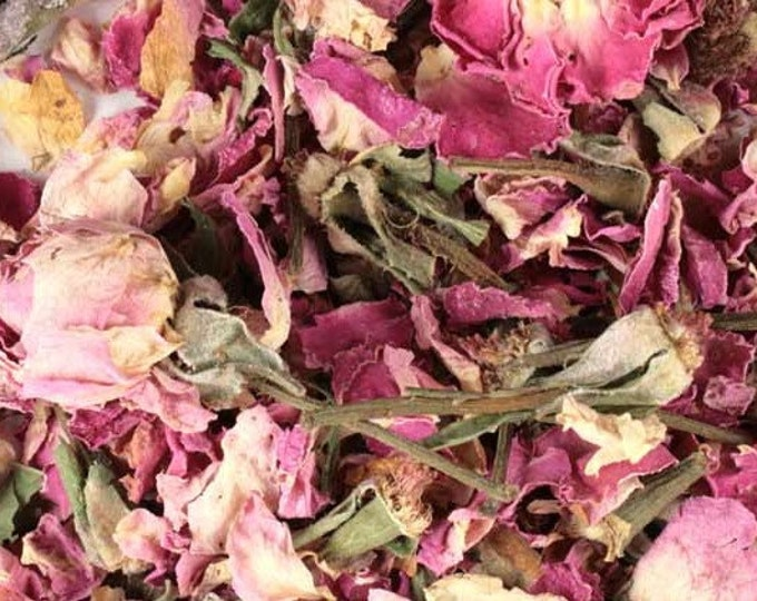 Rose Buds and Petals, Culinary - Certified Organic