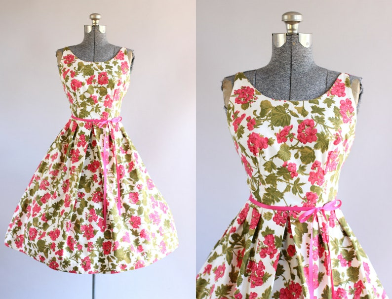 Kids' Clothes, Shoes & Accs. Green Floral Dress With White Ribbon Dresses